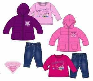 Giubbotto bambina neonata 6 12 18 24 mesi jeans maglietta giubbino da bimba