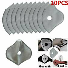 10 Pack PM2.5 Activated Carbon Replacement Filters-for Dual Valve Face Masks
