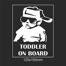 Toddler On Board Baby On Board Child On Board Window Car Sign Decal Sticker