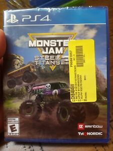 Monster Jam: Steel Titans 2 PS4 PLAYSTATION 4 SONY BRAND NEW FACTORY SEALED