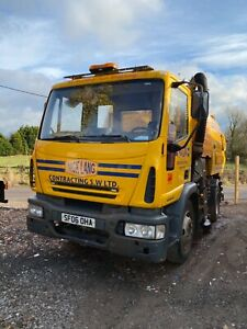 Iveco 16 ton roadsweeper sweeper brush vt650 plant