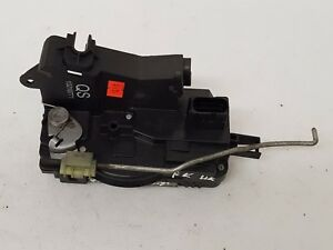 OPEL VAUXHALL VECTRA C 2006 RHD FRONT LEFT DOOR LOCK CATCH MECHANISM 13210771