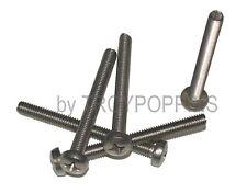 5PK-SS M6-1.0 X 60MM PPH PHILLIPS PAN HEAD MACHINE SCREWS METRIC STAINLESS STEEL