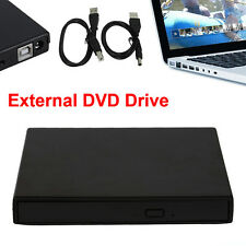 Portable SATA TO USB 2.0 External CD/DVD ROM Drive Case For Laptop PC UL