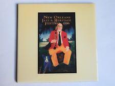 Festival TILE: New Orleans Jazz & Heritage Fest ~ 1996 Clarinetist Pete Fountain