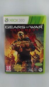 Jeu Xbox 360 Gears of war judgment - genre : jeu de tir