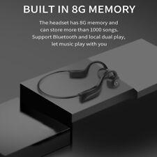 Wireless Bone Conduction Headphones 8GB IPX8 Music Player Earphone Fit Swimming