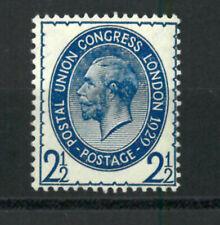 KGV 1929  congress london  2 1/2 d   MNH**