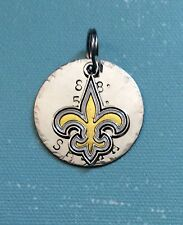 New Orleanss Saints NFL Custom Dog Cat Pet ID Tag, Your Pets Name & #