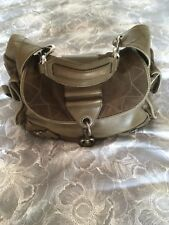 Authentic Christian Dior Khaki Leather & Suede Bag,Handbag RRP$3,295 FANTASTIC !