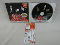 Dreamcast CR HISSATSU SHIGOTONIN Pachitte with SPINE CARD * SEGA JAPAN Game dc