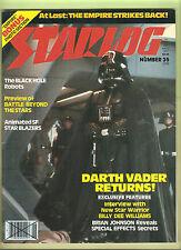 "STARLOG MAGAZINE #35 JUNE 1980 (O'Quinn) ""Star Wars / Empire Strikes Back"" cover"