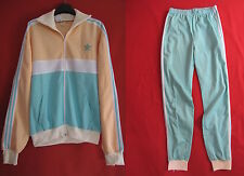 Survetement Vintage Adidas Tricolore Ventex 70'S Veste + pantalon - 186 / XL