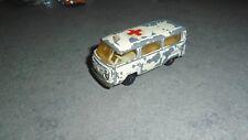 ancien vw combi volkswagen majorette ambulance croix rouge france no cox bay
