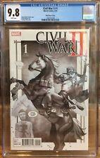 Civil War II #1 Yasmine Putri Sketch Variant CGC 9.8