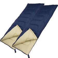 2x Schlafsack Sommer Camping Decke Mumien Deckenschlafsack Zelt Outdoor Explorer
