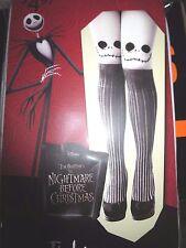 Jack Skellington Tights Nightmare Before Christmas Halloween One Size Jack Face