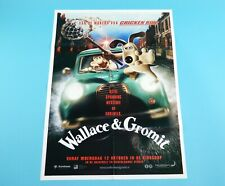 DOUBLE SIDED FOLDOUT POSTER WALLACE & GROMIT LANGE FRANS & BAAS B 2005 HITKRANT