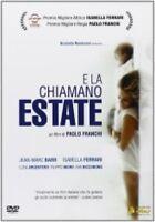 E LA CHIAMANO ESTATE  DVD DRAMMATICO