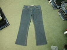 "M&CO Bootcut Jeans Size 16 Leg 30"" Faded Dark Blue Ladies Jeans"