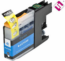 TINTA LC123C V2 CIAN COMPATIBLE DCP J132W BROTHER CARTUCHO CYAN NO ORIGINAL NOEM