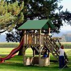 "43""x90"" Swing Set Replacement Tarp UV Protection Playground Roof Playset"