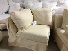 Pottery Barn Comfort Sofa Sectional CORNER BOX SLIPCOVER ONLY Camel Linen