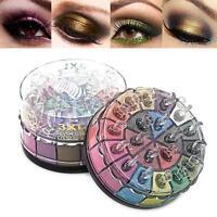 20 Colors Shimmer Glitter Eye Shadow Powder Palette Matte Cosmetic Makeup Kit