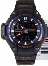 Casio SGW450H-2B Altimeter, Barometer, Thermometer, Resin Watch, 5 Alarms NEW
