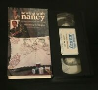 Stitching Strategies Sewing With Nancy VHS learn to sew how to video embroidery