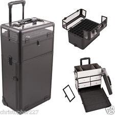 OPI Gel Nail Polish Trolley Organizer Professional Aluminum Manicure Beauty Case
