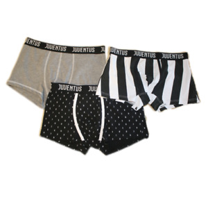 PLANETEX Boxer Adulto Uomo Juventus FC Abbigliamento Intimo Ufficiale *20266-S-nero