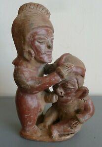 Erotic south American folk art Clay pottery South American erotic folk art clay