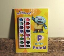 Nickelodeon Wallykazam! P Is for Paint! Book Paints by Golden Books Staff NEW