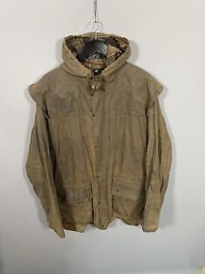 BARBOUR CLASSIC DURHAM WAX Jacket - C48/122CM - Green - Great Condition - Mens