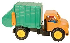 Sturdy work Trucks Garbage truck by battat