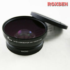 DSLR 0.45X Wide angle Conversion Lens 72mm for Canon Nikon Sony Pentax Olympus