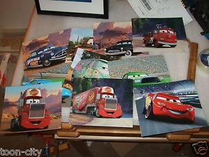 Disney Pixar CARS Lighting McQueen Mater Doc Hudson Sally Mack Red Sheriff