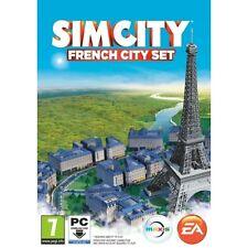 SimCity Sim City French (Paris) City Set (Expansion) PC 100% Brand New