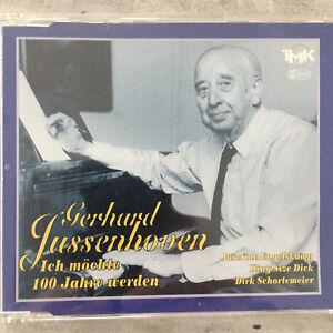 GERHARD JUSSENHOVEN: Ich möchte 100 Jahre werden (Maxi-CD TMK 004747 / neu)
