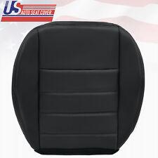 2009 Dodge Charger R/T SXT SE Passenger Side Bottom Leather Seat Cover Dark Gray