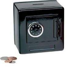New Mini Metal Security Safe Box Kids Lock Money Storage Bank Portable