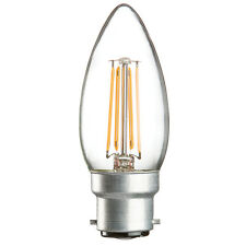 Knightsbridge 230V 4W LED 3000K x1 Vela Transparente 35mm BC
