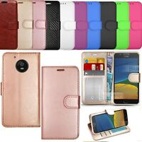 For Motorola Moto G5,G5+,G5S,G5S+,E3,E4,E4+,C,C+ Wallet Leather Phone Case Cover