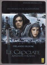 dvd LE CROCIATE KINGDOM OF HEAVEN Orlando BLOOM Edizione speciale 2 DVD