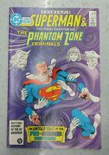 DC COMICS PRESENTS #97 SUPERMAN & THE  PHANTOM ZONE CRIMINALS NM- 9.2 LAST ISSUE