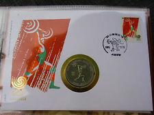* numisbrief con 2000 won corea * Olympia 1988