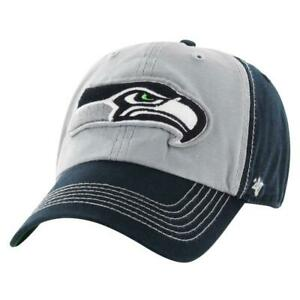 Seattle Seahawks NFL '47 CLEAN UP Cap Hat Adjustable Strapback Est. 1976 Men's
