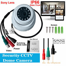 Sony 2.4MP 1080P CCTV Dome Camera HD 3.6mm 20m IR 4 in 1 TVI AHD CVI Analogue UK