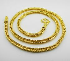 Gp Necklace 26 Inch 60 Grams Jewelry Men's Chain 22K 23K 24K Thai Baht Gold